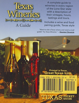 Texas Wineries - back