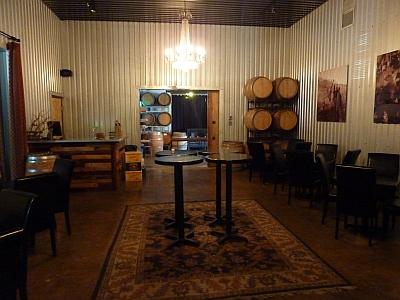 Times Ten Cellars - barrels