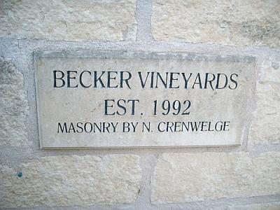 Becker - sign