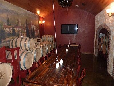 Clear Creek - barrel room