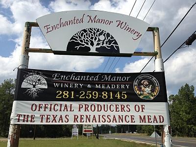 Enchanted Manor - sign