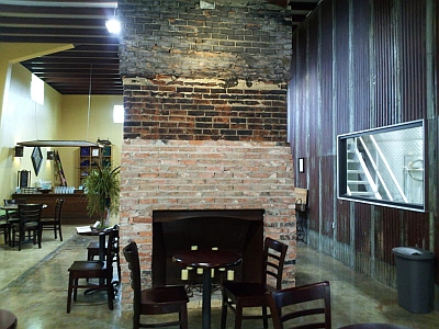 Kerrville Hills - fireplace