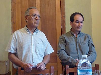 Don Carlos and Alberto Cecchin