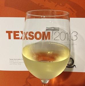 TEXSOM 2013 - wine glass