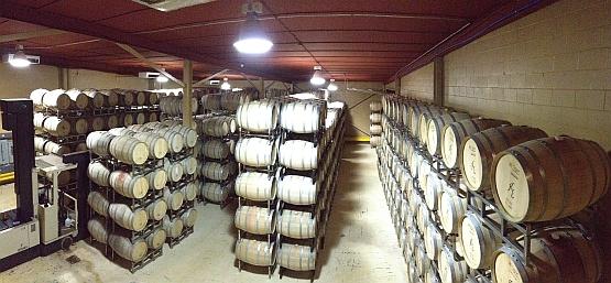 Kiepersol - barrel room
