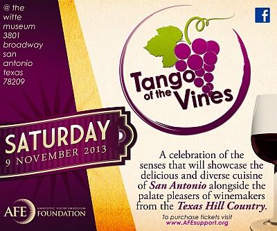 Tango of the Vines - ad