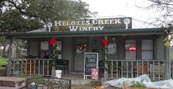 Helotes Creek - outside