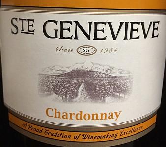 Ste. Genevieve - mesa label