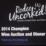 2014 Houston Rodeo Wine Auction Brings Record Bids