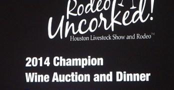 2014 Wine Auction sign