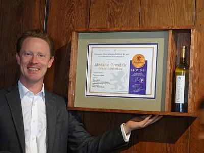 2013 Lyon International Wine Competition diploma