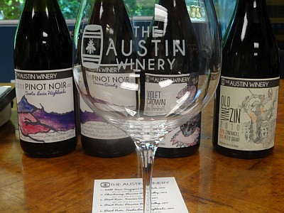 The Austin Winery wines