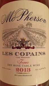 Les Copains Dry Rosé - front