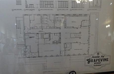 Messina Hof Grapevine Winery blueprint