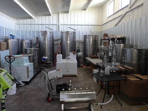 Pemberton Cellars - production