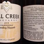 Review of Fall Creek Vineyards Chardonnay 2013
