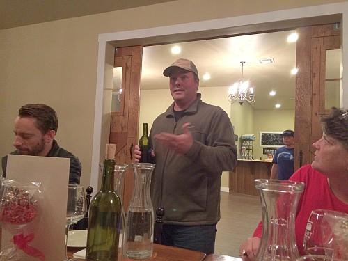Craig Pinkley of Pilot Knob Vineyard