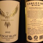 Review of Eaglefire Winery Muscat Blanc 2013