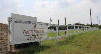Waco Winery sign