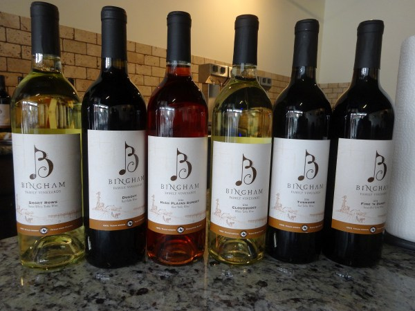 Bingham Family Vineyards wines