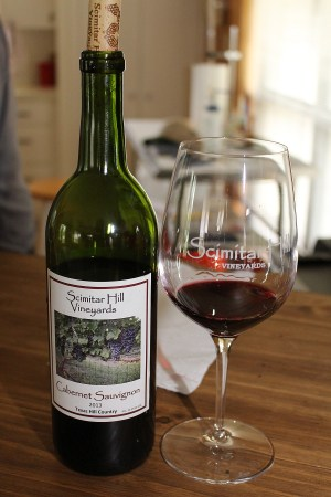Scimitar Hill Vineyards Cabernet Sauvignon