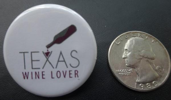 Texas Wine Lover button