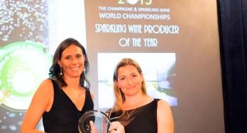 Camilla Lunelli of Ferrari Winery and Essi Avellan MW