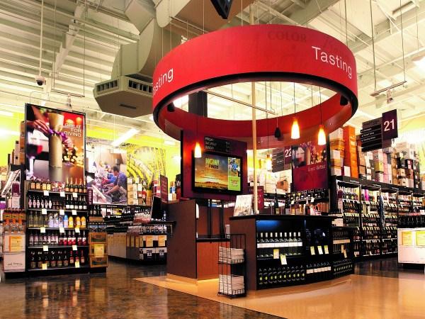Total Wine Tasting Bar
