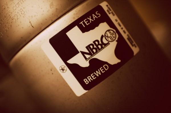 New Braunfels Brewing Company keg