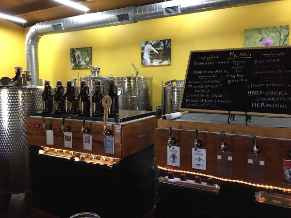 Rohan Meadery taps