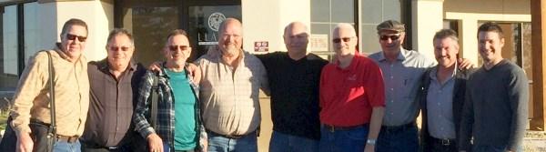 Bill Freidhof, Andrew Chalk, Russ Kane, Ron Saikowski, Mark Hyman, Jeff Cope, Greg Bruni, Matt McGinnis, Jason Centanni