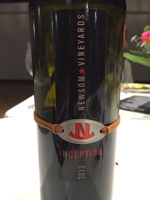 Newsom Family Vineyards 2013 Inception Red