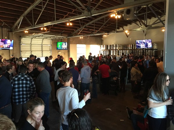 8th Wonder Brewery - crowd