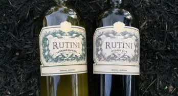 Rutini Sauvignon Blanc and Malbec