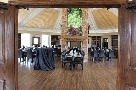 Mitas Hill Vineyard dining room
