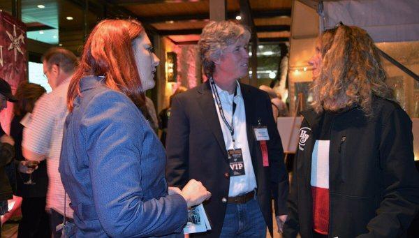 Robin English-Bircher, Mike and Denise Batek