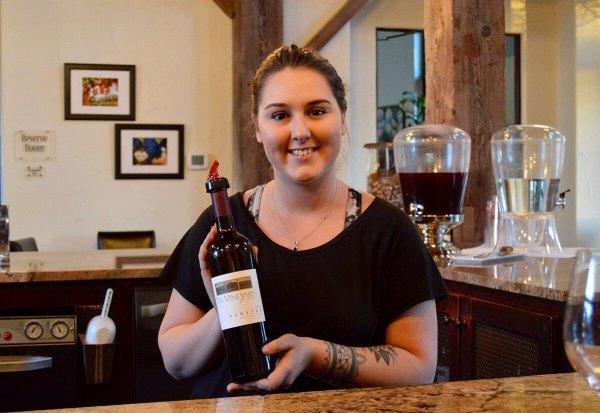 Alicia at Vineyard at Florence