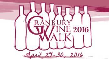 Granbury Wine Walk Logo