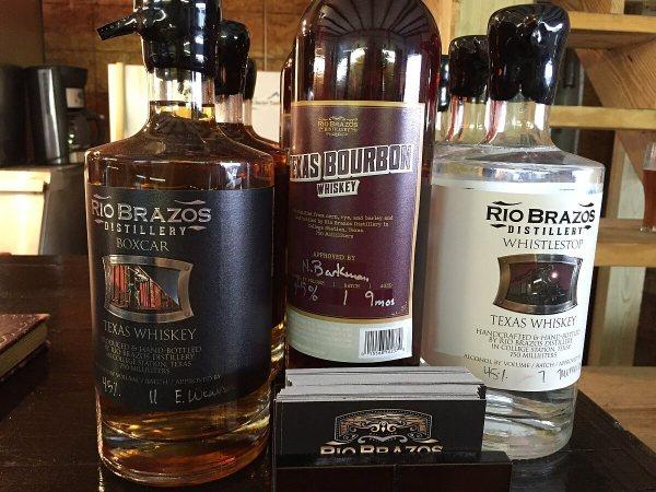 Rio Brazos Distillery spirits