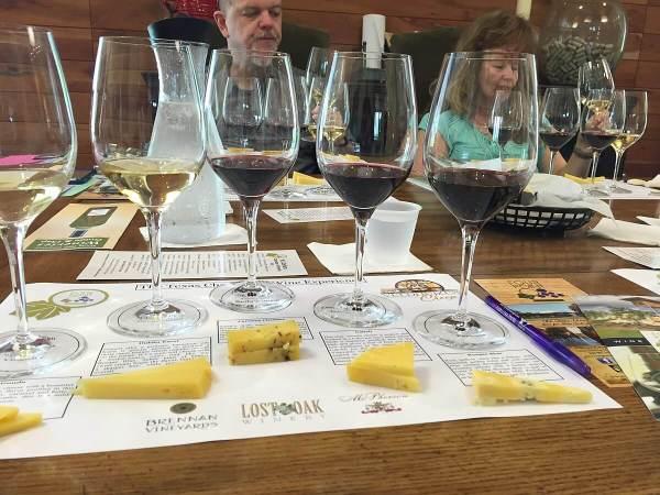 4.0 Cellars wine & cheese pairing