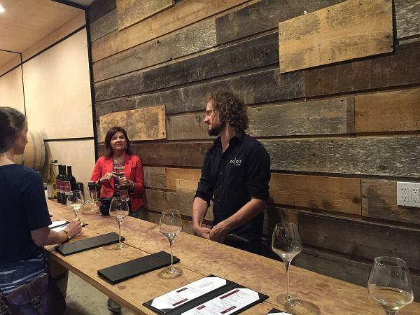 Benjamin Calais at CALAIS Winery