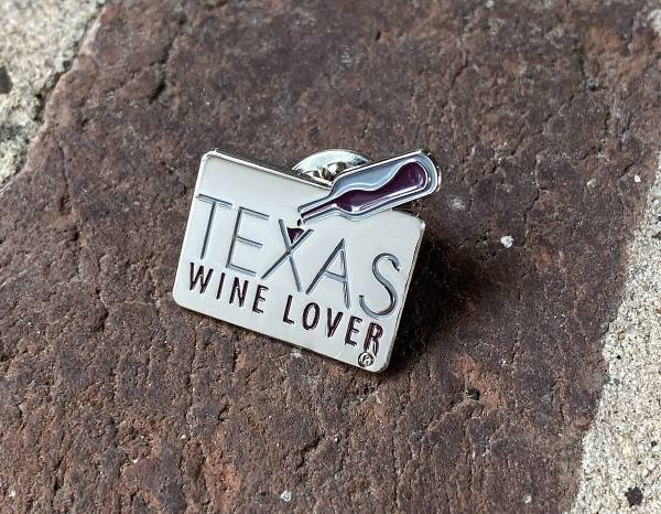 Texas Wine Lover pin