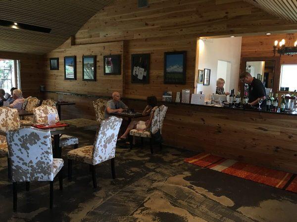 El Gaucho Winery - indoors
