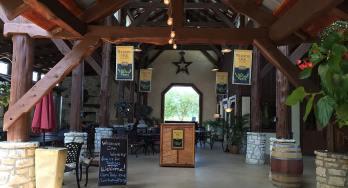 Wedding Oak Winery at Wildseed Farms outside