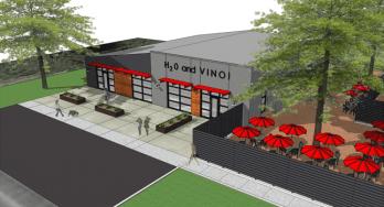 Four winery incubator drawing