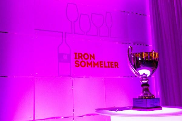 Iron Sommelier 2016 trophy