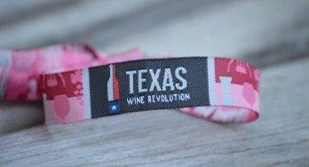 Texas Wine Revolution wristband
