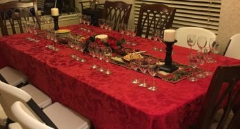 Perissos Roussanne Vertical Tasting table
