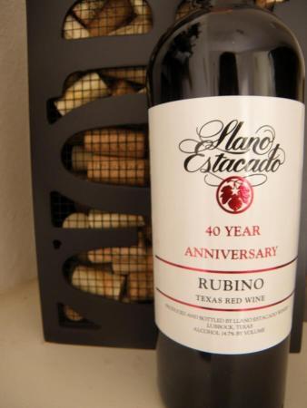 Llano Estacado Winery Rubino
