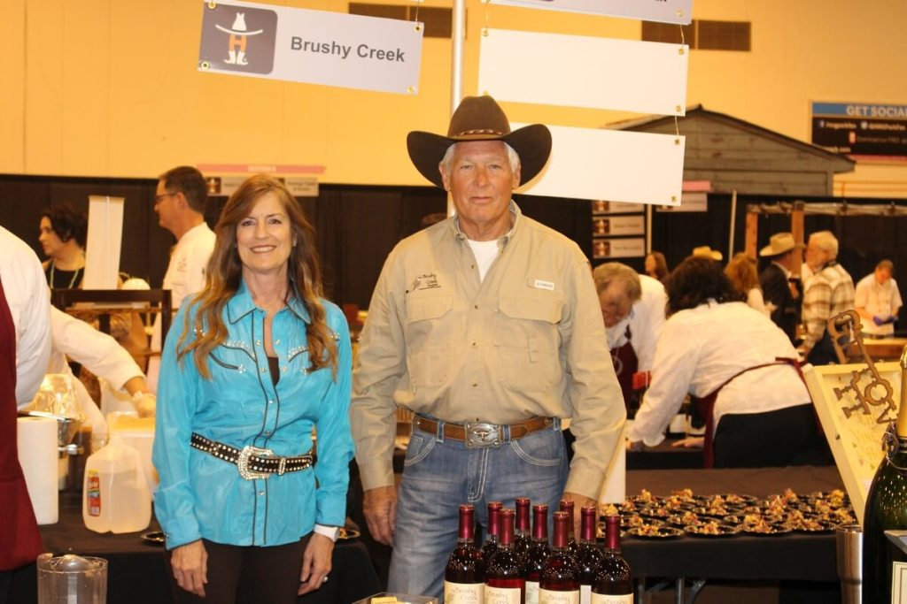 Brushy Creek Vineyards and Winery - Candy & Steve Roos